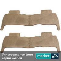 Модельные коврики в салон Kia Carnival 2006-2014 Компл.: 2-3 ряд + багажник