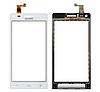 Оригинальный тачскрин / сенсор (сенсорное стекло) для Huawei Ascend G6-U10 (белый цвет)