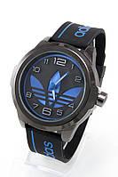 Мужские спортивные наручные часы Adidas черные+синие