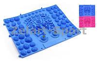 Коврик-пазл ортопедический массажный резиновый магнитный 1 шт. Zelart ZD-5080