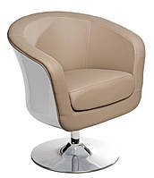 Кресло Magnum K-белый, S - бежевый