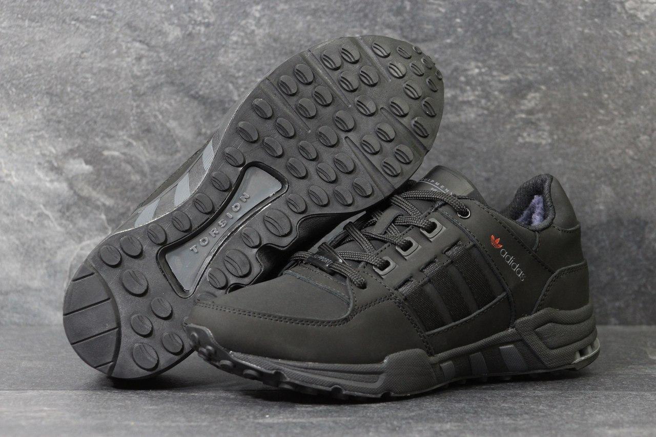 1e63fb4f Мужские зимние кроссовки Adidas Equipment черные 3789 - Я в шоке!™ в  Хмельницком