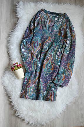 Удлиненная блузка с расширенным рукавом Zara, фото 2