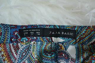 Удлиненная блузка с расширенным рукавом Zara, фото 3