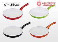 Сковорода Martex с керамическим покрытием - Д=28см, 26-203-025