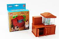 """Набір меблів. Тварини флоксові Happy Family """"Акваріум"""""""
