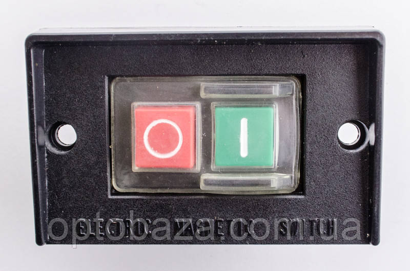 Кнопка для промислового верстата 4 клеми (на пластині)
