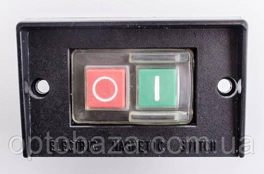 Кнопка для промислового верстата 4 клеми (на пластині), фото 2