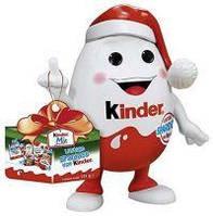 Новогодний Kinderino Kinder mix набор сладостей, игрушка- копилка