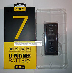 Акумулятор Golf Li-polymer для iPhone 7, фото 2