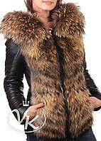 1fc11c7cc47 Женские зимние кожаные куртки с мехом оптом в Украине. Сравнить цены ...