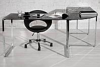 Письменный стол угловой Большой Blazed черные