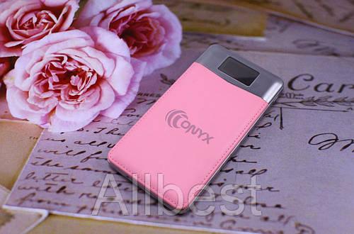 Внешний аккумулятор для заряда телефона Power Bank Onyx 8800 mah