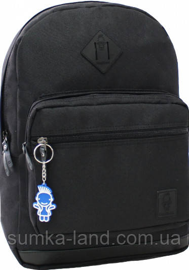 Рюкзак черный для ноутбука Bagland Zanetti 16 л 41*29*13 см