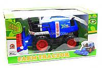 Игрушечный комбайн фермера 0488-293