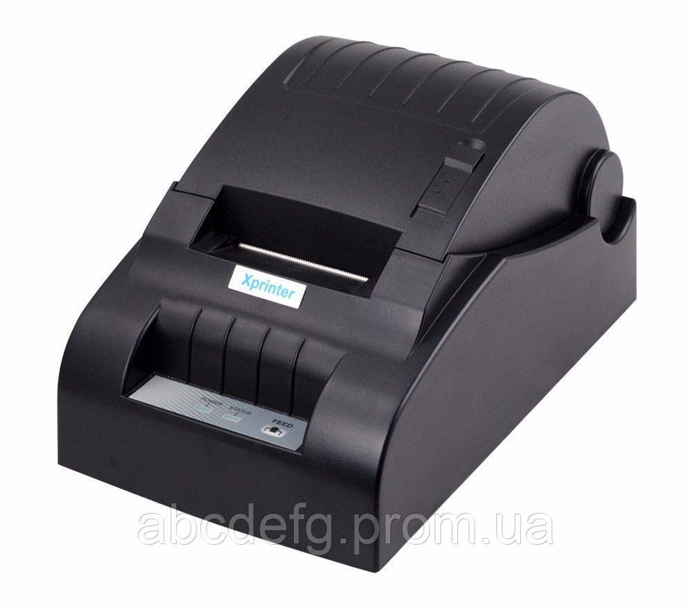 Принтер чеков Xprinter XP-58III (USB)
