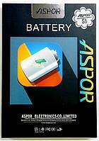 Аккумуляторная батарея Aspor для мобильного телефона Samsung Galaxy S5, G900, 2800mAh, EB-BG900BBE