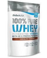 BioTech 100% PURE WHEY USA 454g. Сывороточный протеин.
