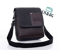Мужская сумка-планшетка Twins ,черная