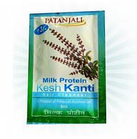 Пробник индийского шампуня Patanjali Kesh Kanti Milk Protein