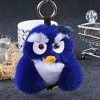 Брелок Angry Birds из натурального меха