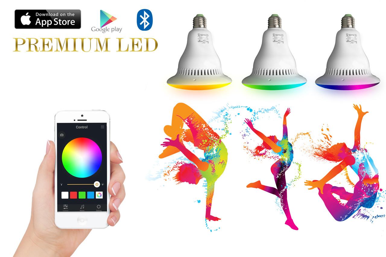 Смарт лампа с Bluetooth динамиком! Умная лампа! ОРИГИНАЛ!!!