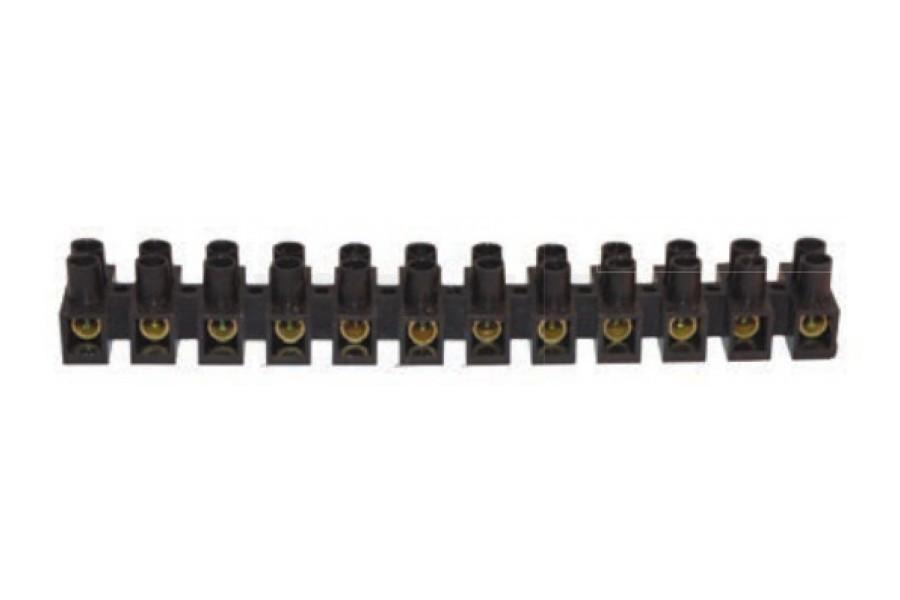 Клеммная колодка АСКО-УКРЕМ 40 мм / 150А тип H черная