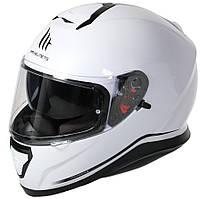 """Мотошлем MT THUNDER 3 SV pearl white """"XL"""", арт. 10550004"""