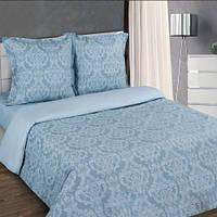 Комплект постельного белья Нова Постиль поплин Византия серый