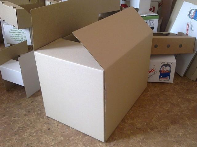 Картонные коробки. Коробки для переезда. 600х400х400, объем 96 литров