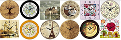 Часы настенные Украинская часовая мастерская