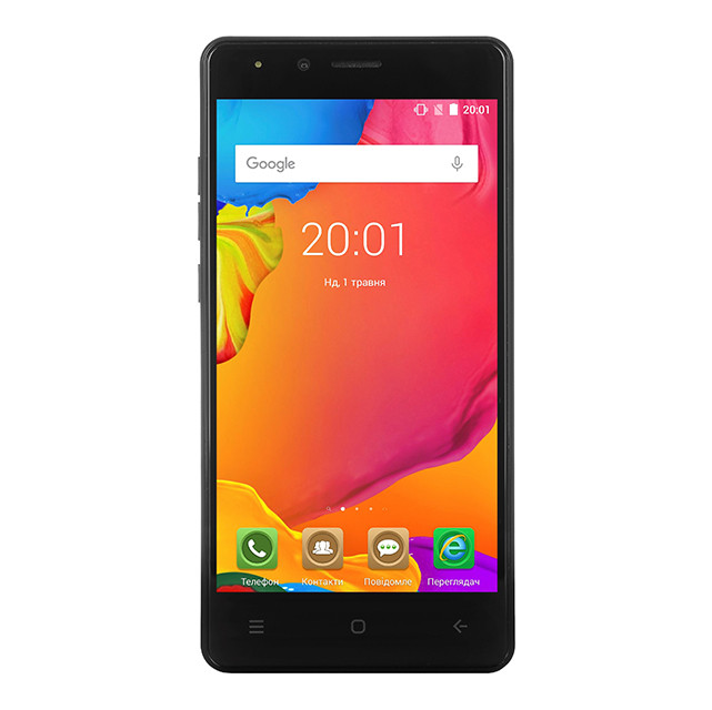 Смартфон Ergo Force F500 Dual Sim Black