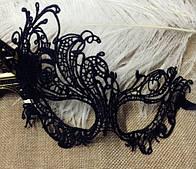 Сексуальная ажурная вечерняя маска для загадочных девушек