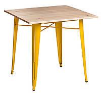 Стол Paris Wood желтый сосна натуральная