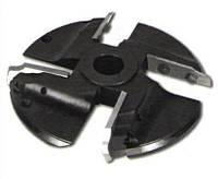 Фреза с механическим креплением ножей (4 к-кта ножей) для изготовления филёнки 200х32