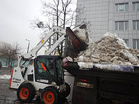 Уборка снега в городе Киев и области при любой погоде