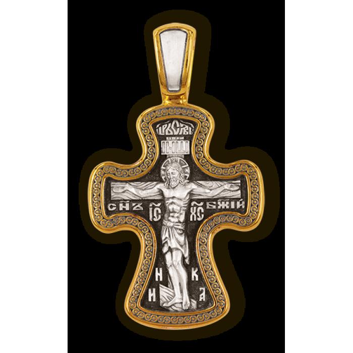 Распятие Христово. Икона Божией Матери Знамение. Православный крест.