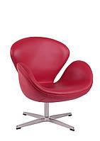 Кресло Cup красная кожа #10 Outlet