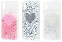 "Чехол-накладка ""Diamond Hearts New (TPU)"" для iPhone X"
