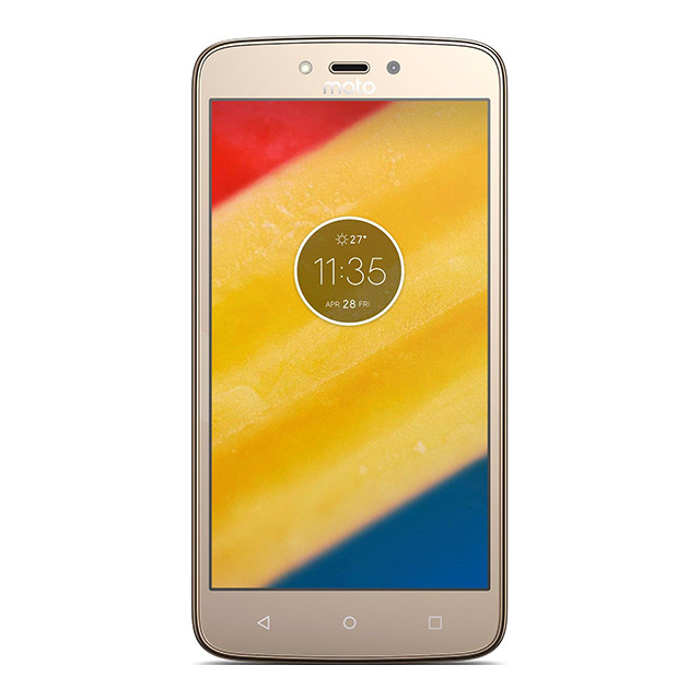 Смартфон Motorola Moto C Plus XT1723 16GB Gold (PA800126UA)