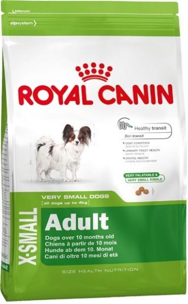 Сухой корм Royal Canin (Роял Канин) X-SMALL ADULT  для собак миниатюрных пород  1,5 кг