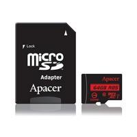 Карта памяти Apacer microSDXC 64GB UHS-I U1+adapter (R85MB/s) / в магазине