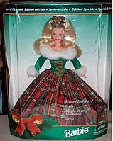 Кукла Барби коллекционная Праздничная 1995 / Happy Holidays Gala Christmas Plaid Barbie Doll Special Edition