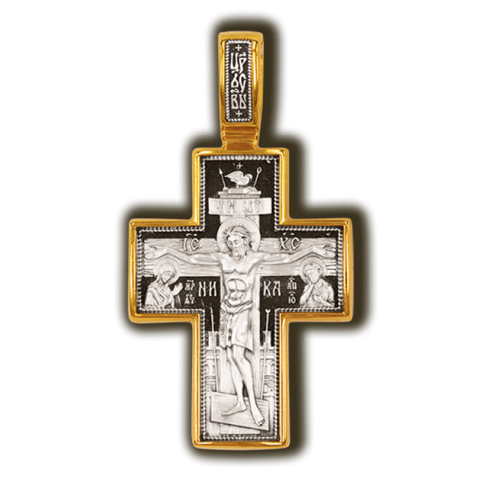 Распятие Христово. Покров Пресвятой Богородицы. Православный крест.