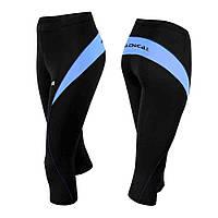 Капрі Radical FLEXY 3/4 чорний/синій (flexy-3-4-blue) - S