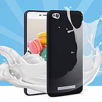 Чехол Xiaomi Redmi 4A силикон soft touch бампер черный