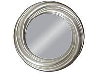 Зеркало висит Твист 94x94 серебро