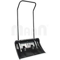 Движок для уборки снега на колесиках black 770х440х1425 мм Maan