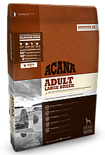 Корм Acana (Акана) Heritage Adult Large Breed для взрослых собак крупных пород 11,4 кг