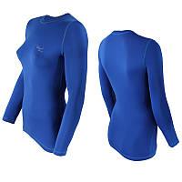 Футболка женская термоактивная Efficient синий (efficient-blue) - M